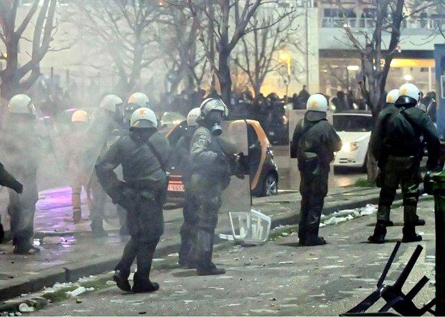 PAOK Olympiakos 11